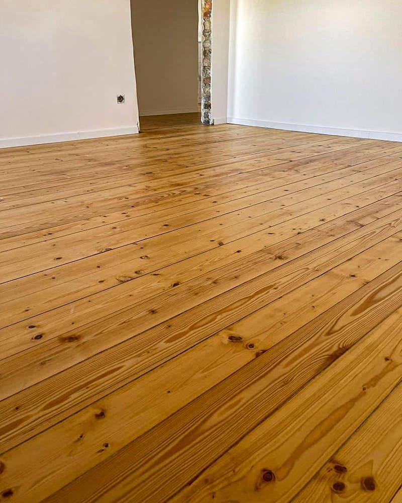 Holzbodenrenovierung