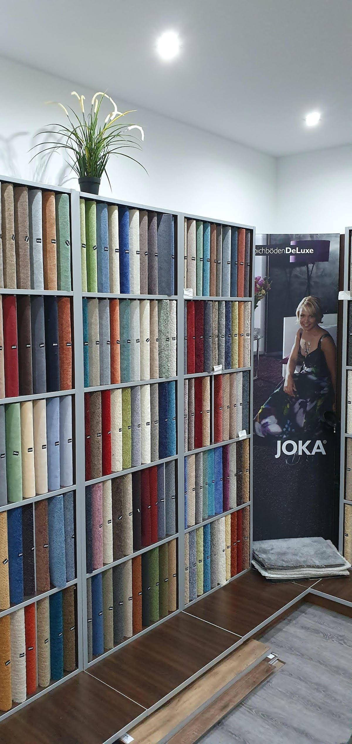 Valon Bodenbeläge Bürstadt Ausstellung Joka PVC
