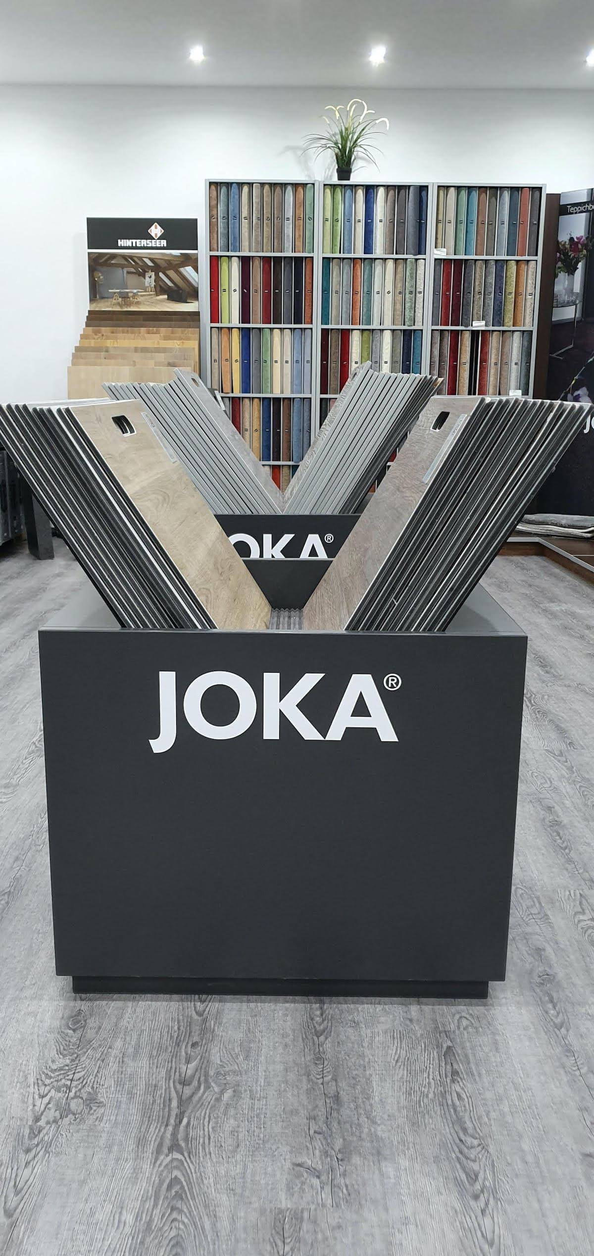 Valon Bodenbeläge Bürstadt Ausstellung Joka laminat