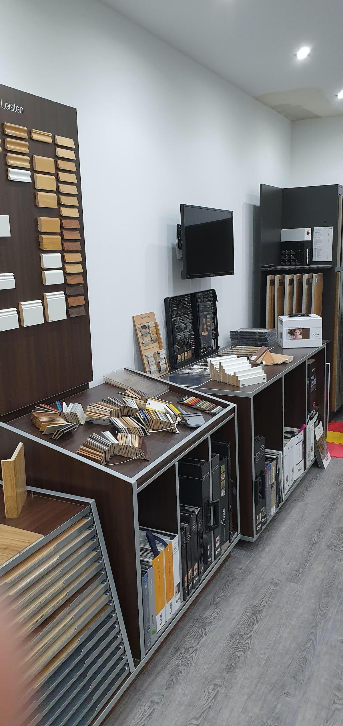 Valon Bodenbeläge Bürstadt Ausstellung parkett